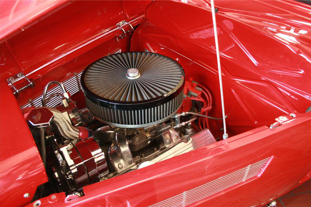 1933 FORD MODEL A CUSTOM COUPE - Engine - 187207