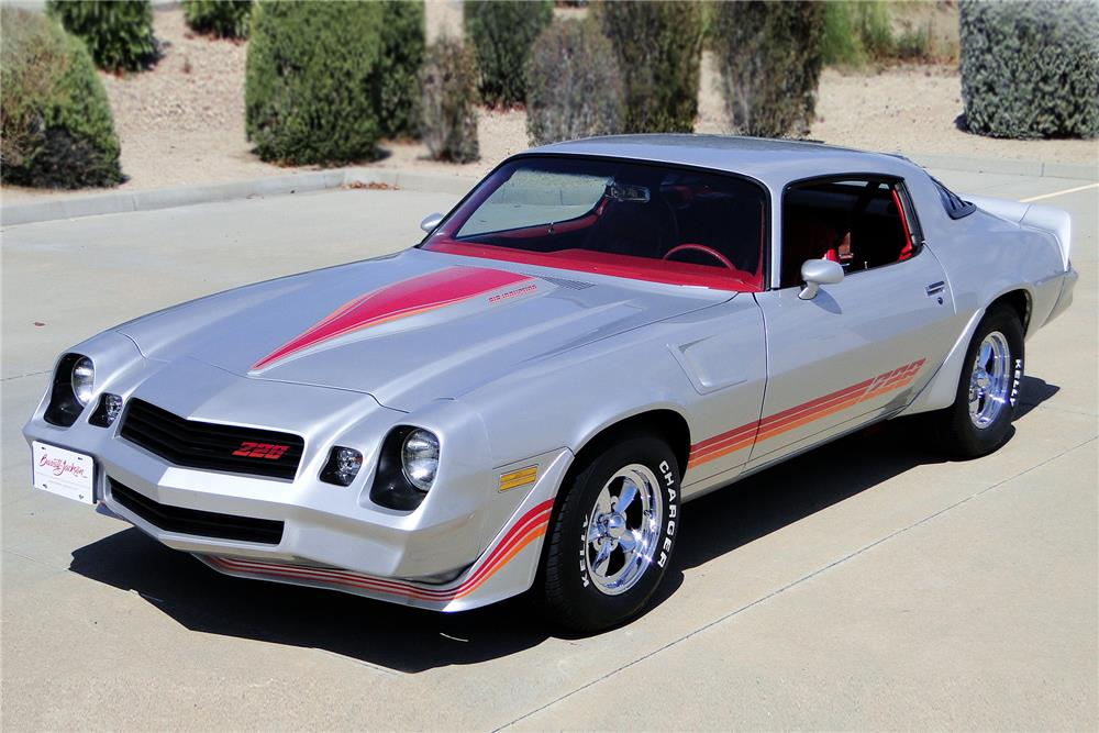 1981 CHEVROLET CAMARO Z/28 CUSTOM COUPE - Front 3/4 - 187213