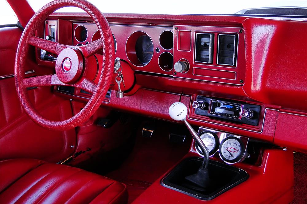 1981 CHEVROLET CAMARO Z/28 CUSTOM COUPE - Interior - 187213