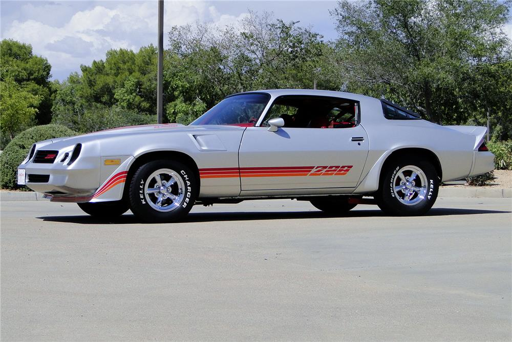 1981 CHEVROLET CAMARO Z/28 CUSTOM COUPE - Side Profile - 187213