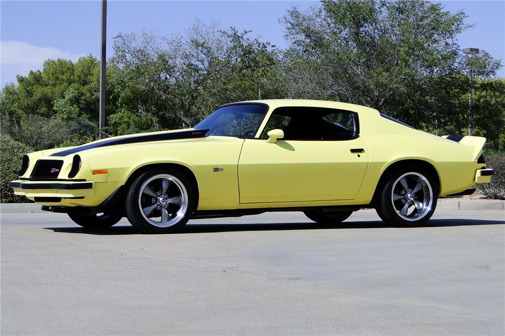 Chevy Muscle Cars >> 1974 CHEVROLET CAMARO Z/28 - 187214