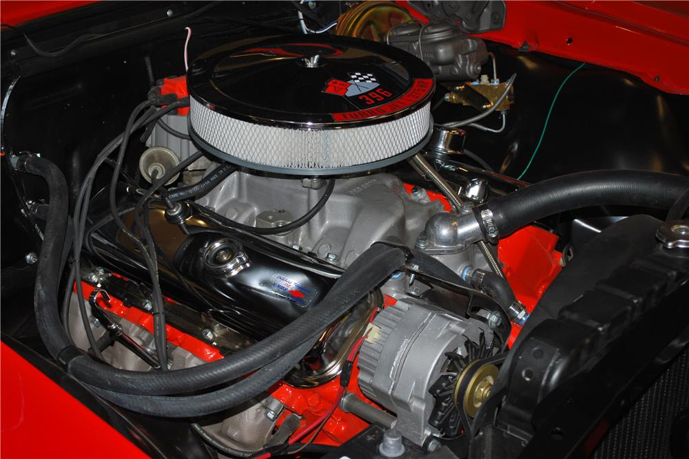 1967 CHEVROLET CHEVELLE SS - Engine - 187220