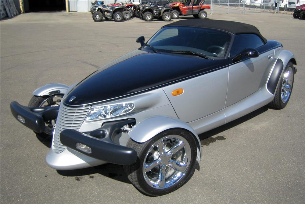 2001 PLYMOUTH PROWLER CONVERTIBLE - 187237