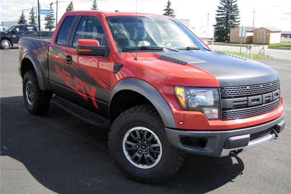 2010 FORD F-150 SHELBY PICKUP - Front 3/4 - 187238