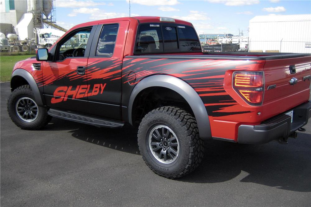 2010 FORD F-150 SHELBY PICKUP - Rear 3/4 - 187238