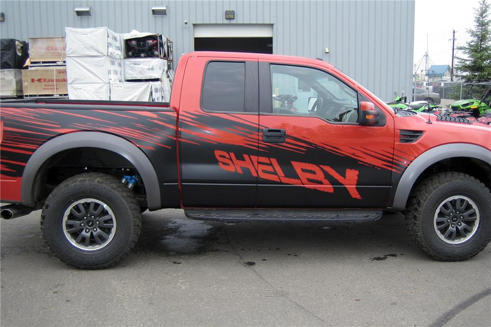 2010 FORD F-150 SHELBY PICKUP - Side Profile - 187238