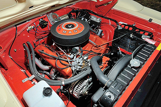 1969 DODGE DAYTONA WING RACE CAR - Engine - 187241
