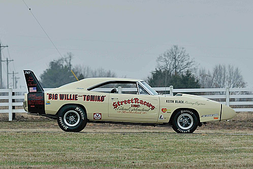 1969 DODGE DAYTONA WING RACE CAR - Side Profile - 187241