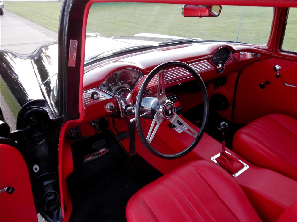 1955 CHEVROLET 150 CUSTOM SEDAN - Interior - 187250