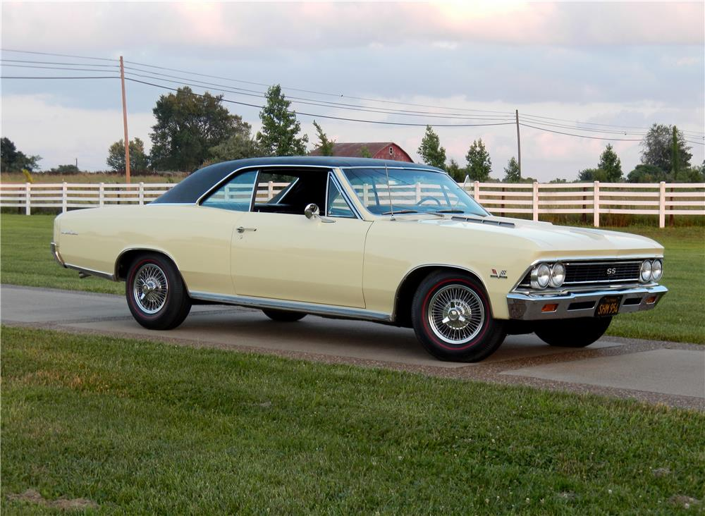1966 CHEVROLET CHEVELLE SS 396  - Front 3/4 - 187255