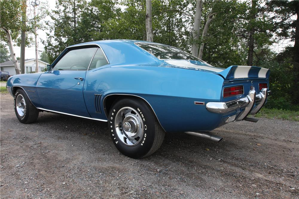 1969 CHEVROLET CAMARO Z/28  - Rear 3/4 - 187256