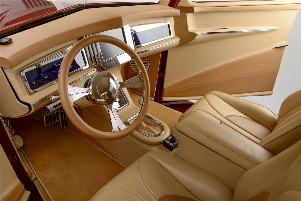 1937 FORD CUSTOM SEDAN - Interior - 187262