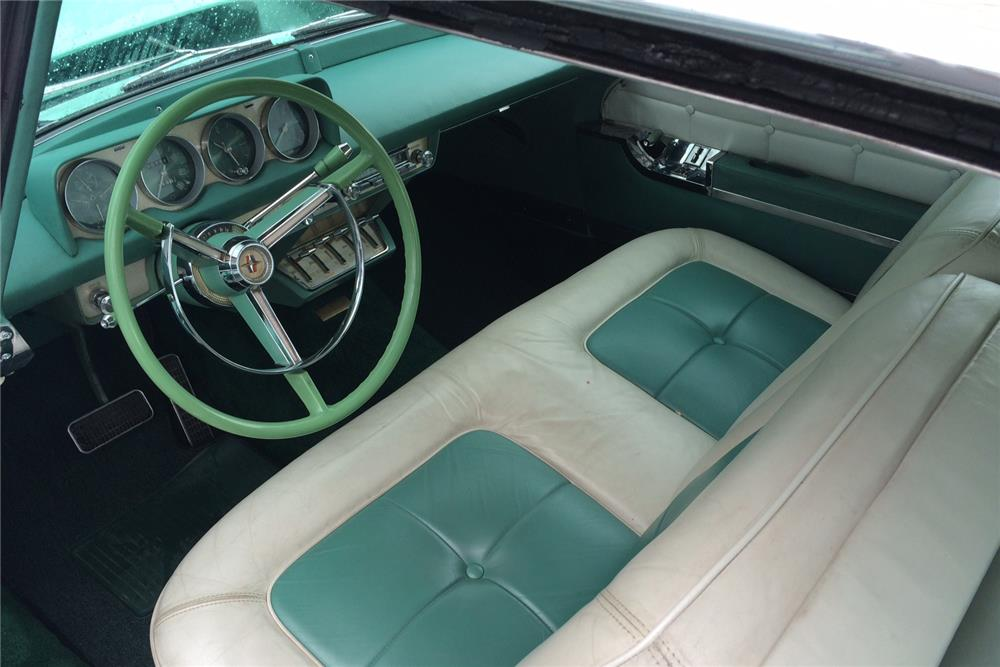 1956 LINCOLN CONTINENTAL  - Interior - 187273