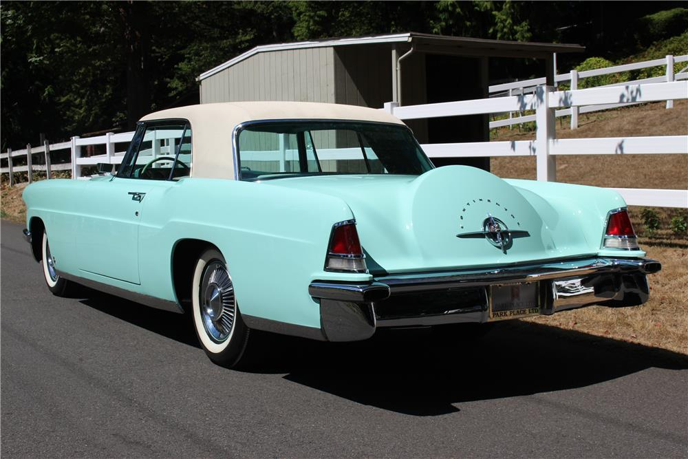 1956 LINCOLN CONTINENTAL  - Rear 3/4 - 187273