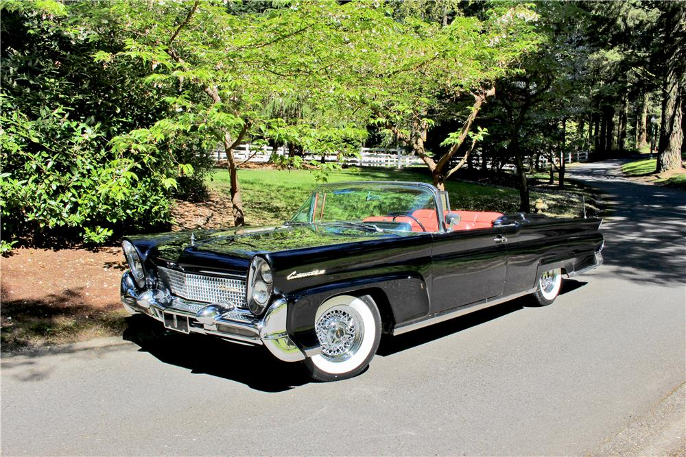 1958 LINCOLN CONTINENTAL MARK III CONVERTIBLE - Front 3/4 - 187274