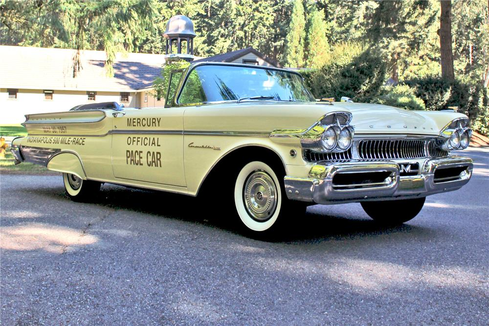 1957 MERCURY TURNPIKE CRUISER PACE CAR - Front 3/4 - 187275