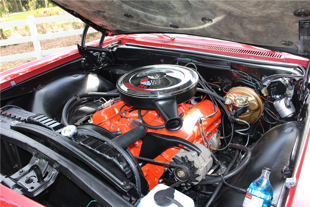 1965 CHEVROLET IMPALA SS CONVERTIBLE - Engine - 187276