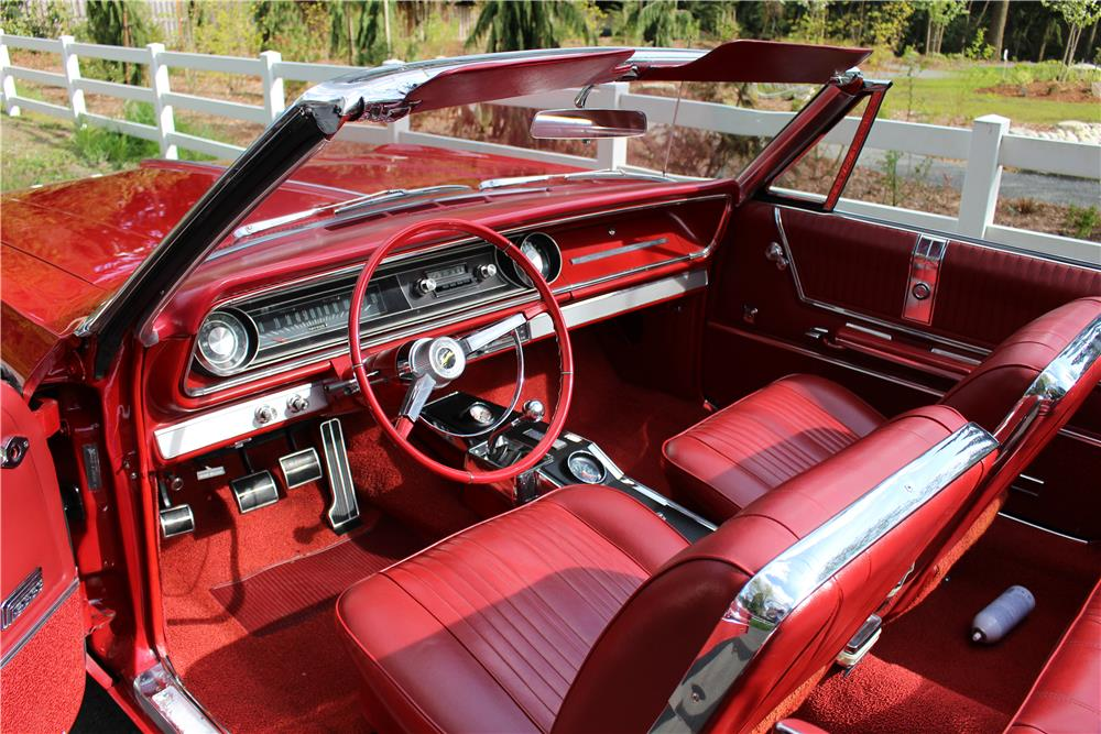 1965 CHEVROLET IMPALA SS CONVERTIBLE - Interior - 187276