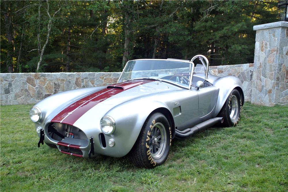 1965 SHELBY COBRA 4000 ROADSTER - Front 3/4 - 187278