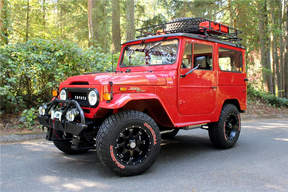 1971 toyota land cruiser fj 40 custom 4x4 187280. Black Bedroom Furniture Sets. Home Design Ideas