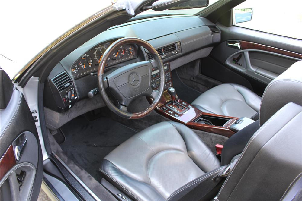 1997 MERCEDES-BENZ 600SL CONVERTIBLE - Interior - 187284