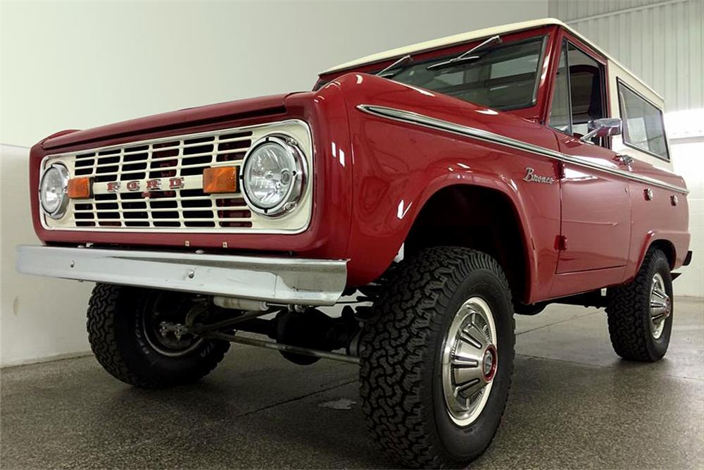 1969 FORD BRONCO 4X4 - Front 3/4 - 187287