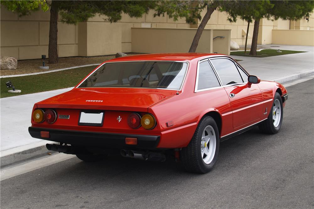 1985 FERRARI 400I CUSTOM COUPE - Rear 3/4 - 187296
