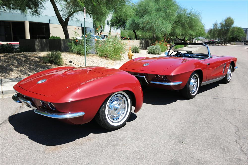 "1962 CHEVROLET CORVETTE 327 CONVERTIBLE ""FUELIE"" - Misc 1 - 187299"