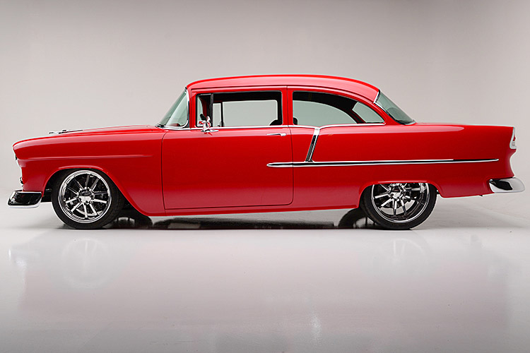 1955 CHEVROLET 210 CUSTOM SEDAN - Side Profile - 187311