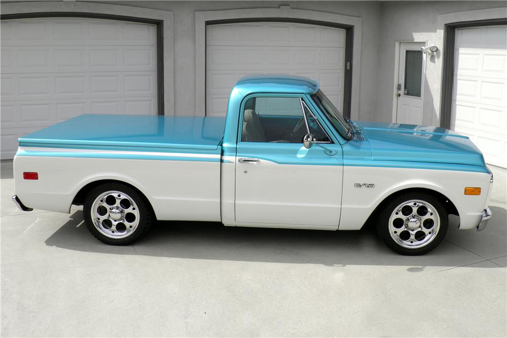1970 CHEVROLET C-10 PICKUP - Side Profile - 187312