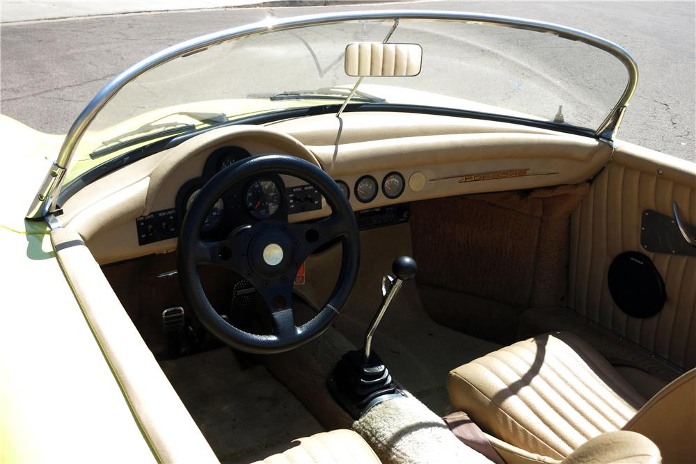 1968 porsche speedster re creation 187315 for Creation interieur