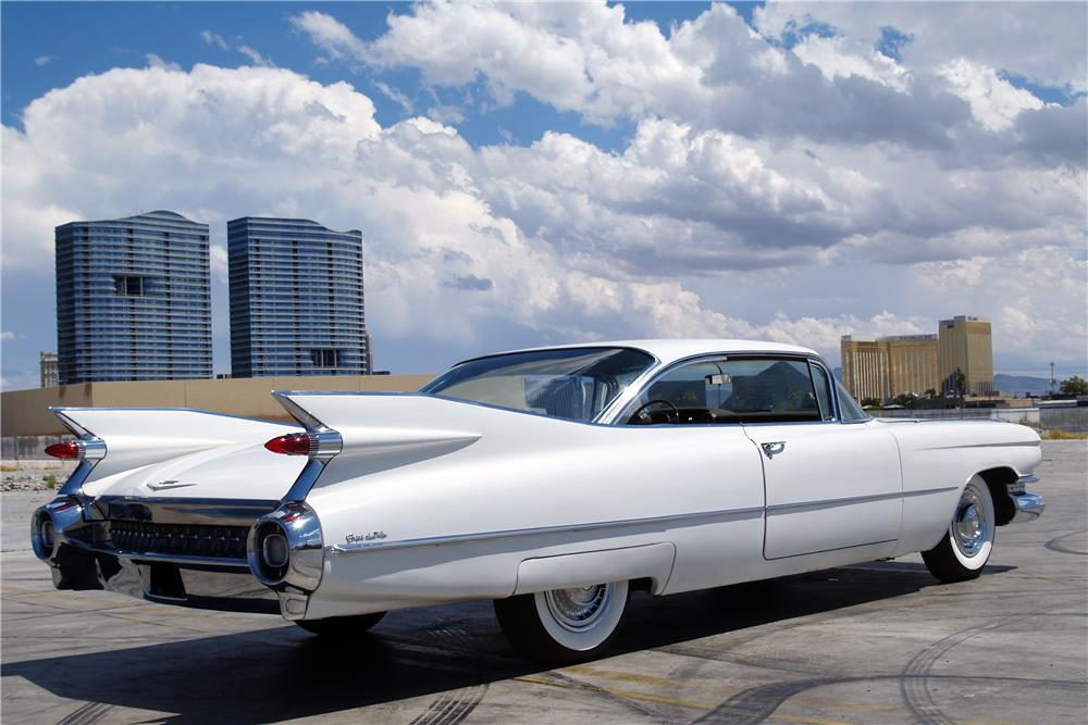 1959 CADILLAC COUPE DE VILLE - Rear 3/4 - 187323