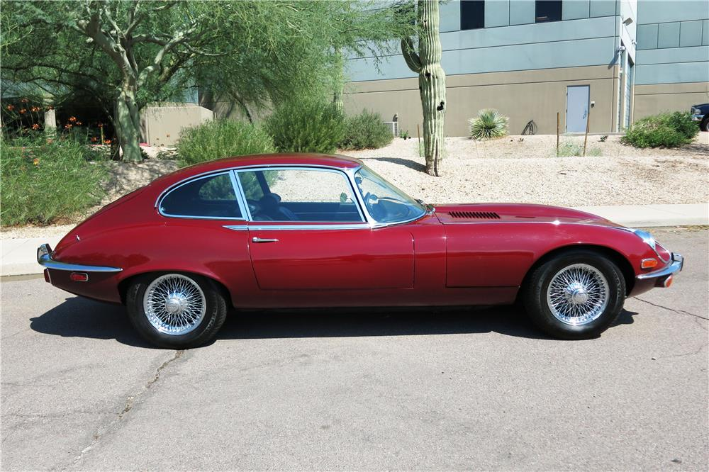 1971 JAGUAR XKE  - Side Profile - 187330