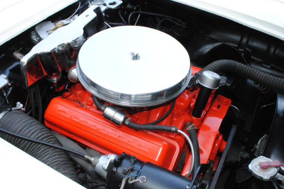 1960 CHEVROLET CORVETTE 283/230 CONVERTIBLE - Engine - 187339