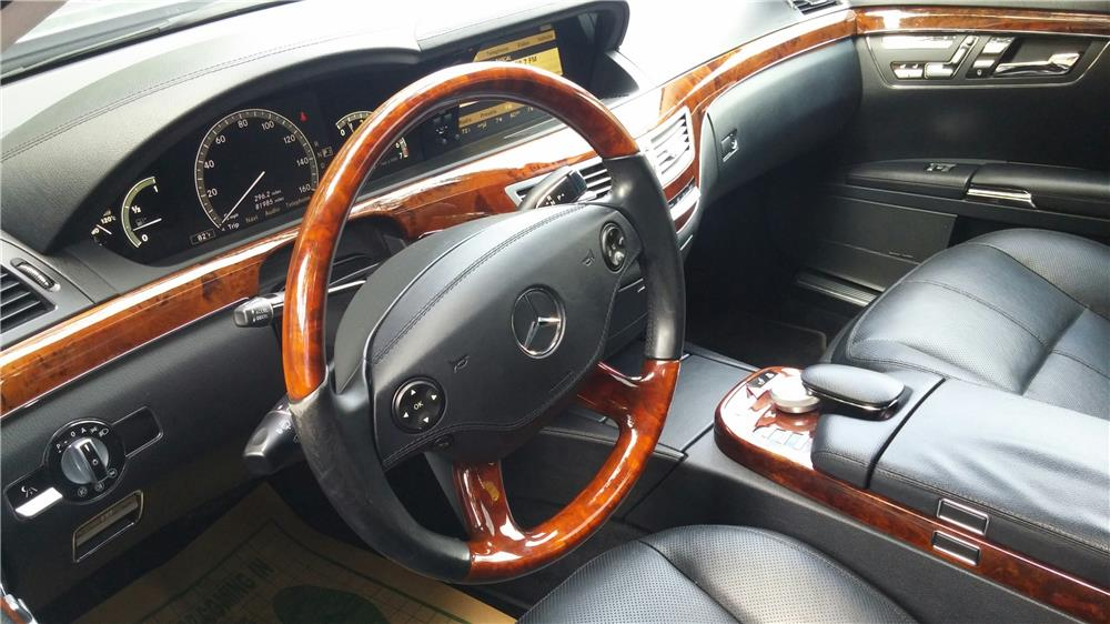 ... 2008 MERCEDES BENZ S550   Interior   187348 ...