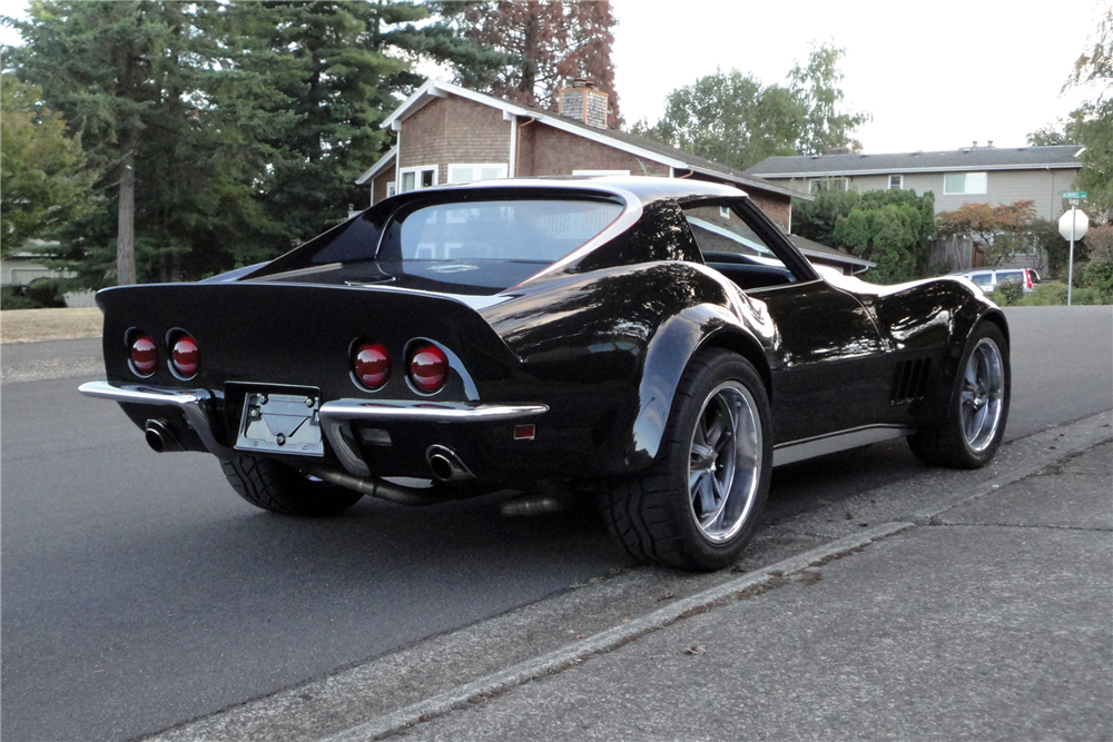 1968 CHEVROLET CORVETTE 427 - Rear 3/4 - 187349