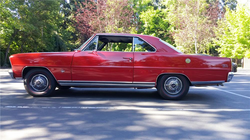 1966 CHEVROLET NOVA SS L79 - Side Profile - 187350