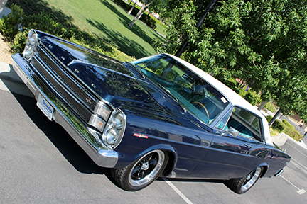 1966 FORD GALAXIE 500 CUSTOM HARDTOP - Side Profile - 187373