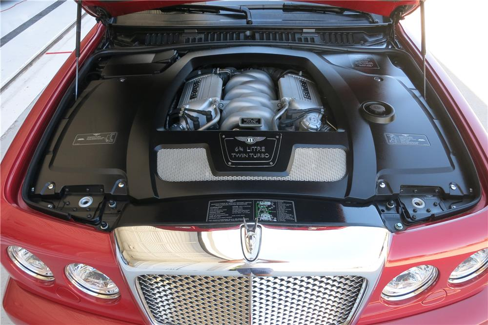2007 BENTLEY AZURE CONVERTIBLE - Engine - 187399