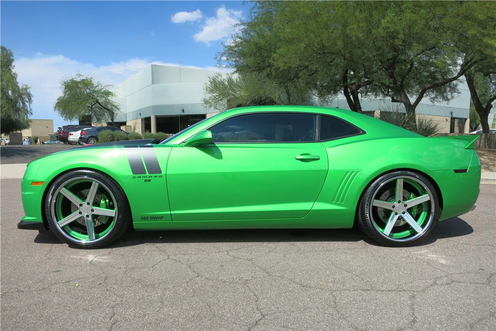 2011 Chevrolet Camaro Ss Custom Coupe 187400