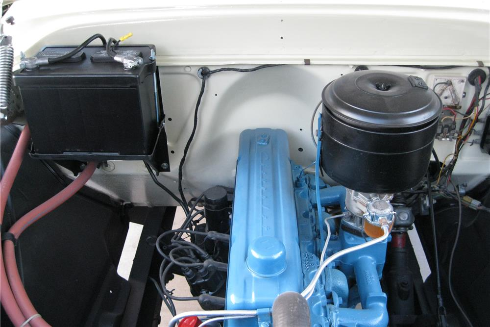 1955 CHEVROLET CAMEO PICKUP - Engine - 187419