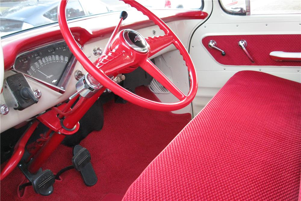 1955 CHEVROLET CAMEO PICKUP - Interior - 187419