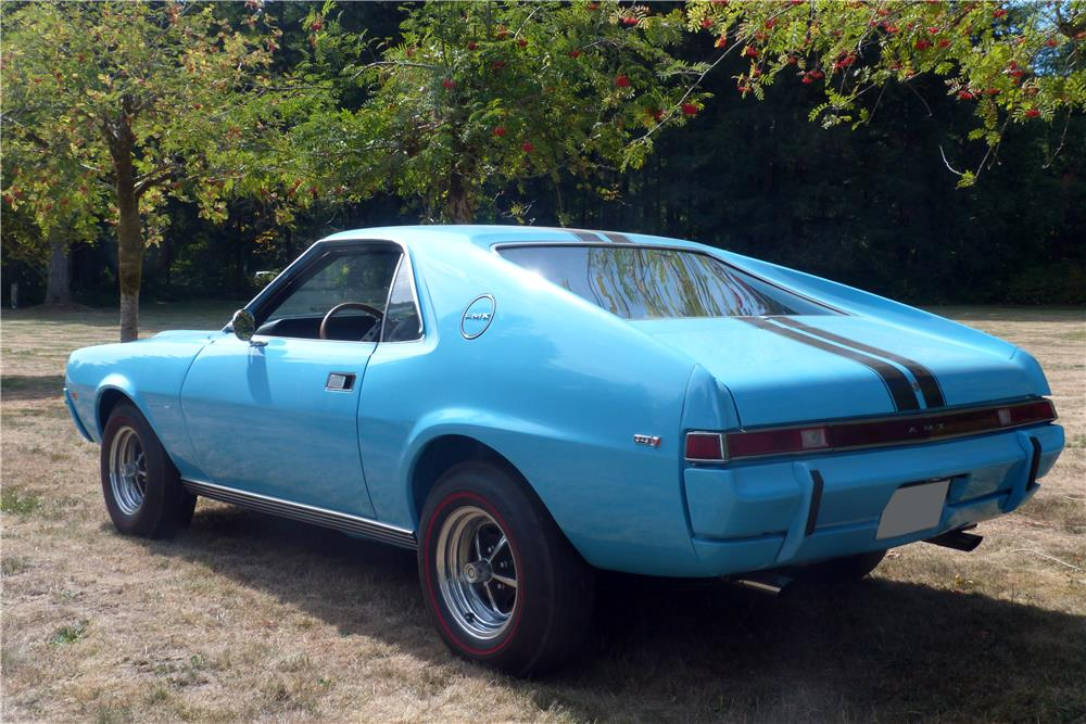 1969 AMC AMX - Rear 3/4 - 187440