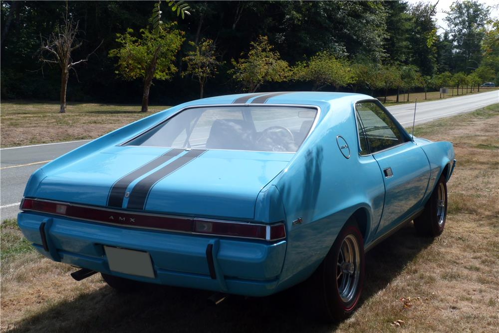1969 AMC AMX - Side Profile - 187440
