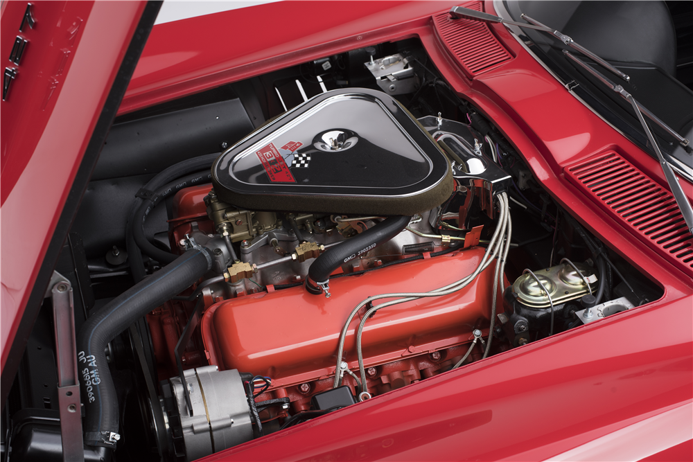 1967 CHEVROLET CORVETTE  - Engine - 187444
