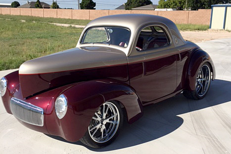 1941 WILLYS CUSTOM COUPE - Front 3/4 - 187451