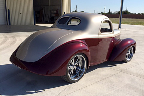 1941 WILLYS CUSTOM COUPE - Rear 3/4 - 187451