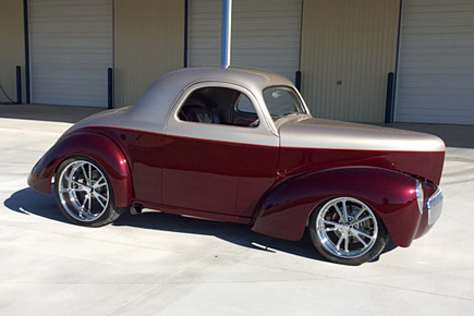 1941 WILLYS CUSTOM COUPE - Side Profile - 187451