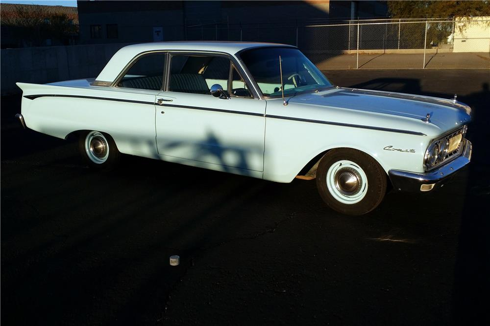1962 MERCURY COMET  - Side Profile - 187456