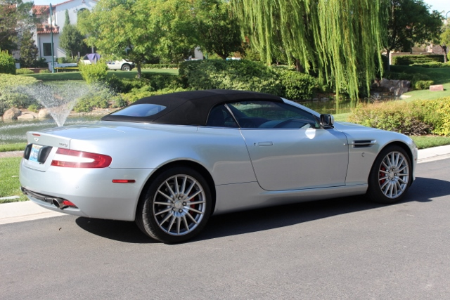 2006 aston martin db9 volante convertible 187473. Black Bedroom Furniture Sets. Home Design Ideas